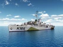 World War II ship of Canada Stock Photography