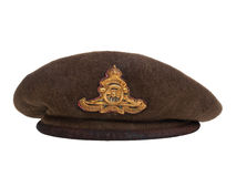 World War II soldier beret Royalty Free Stock Images