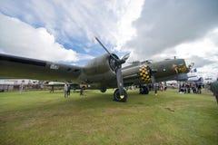 World War II time aircraft Stock Photos