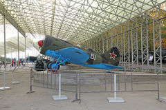World War II USSR airplane Royalty Free Stock Images
