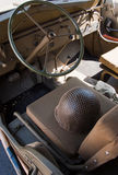 World war II vehicle interior Stock Photo