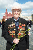World War II veteran Andrey Mikhailovich Royalty Free Stock Photo