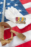 World War II Veteran Medals Royalty Free Stock Photo