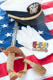 World War II Veteran Medals Royalty Free Stock Photography