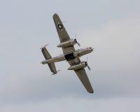 World War II vintage B-25 Bomber. Royalty Free Stock Image