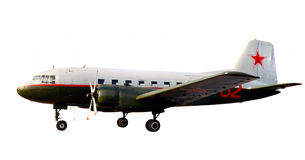 World war lend-lease airplane dc-3 li-2 Stock Image