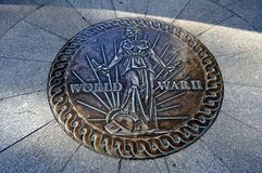 World War 2 Memorial Royalty Free Stock Image
