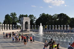 World War 2 Memorial Stock Photo