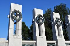 World War 2 Memorial Stock Images