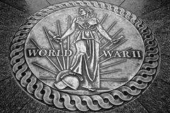 World War 2 Memorial Seal Stock Image