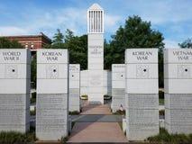 World war memorials stock photo
