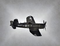 World War 2 Navy airplane Royalty Free Stock Photos