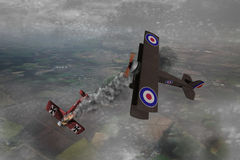 World War One Aircraft Stock Image
