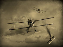 World War One Aircraft Royalty Free Stock Photography