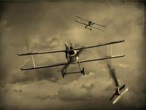 World War One Aircraft royalty free illustration