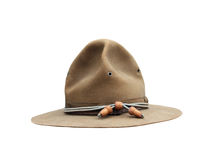 World war one army hat Stock Photography