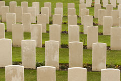 World war one cemetery tyne cot in belgium flanders ypres Royalty Free Stock Photography