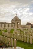 World war one cemetery tyne cot in belgium flanders ypres Royalty Free Stock Photos