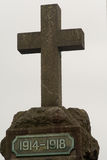 World War One Memorial cross Royalty Free Stock Images