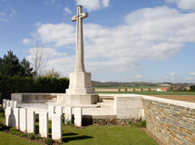 World War One Military Cemetery Royalty Free Stock Image
