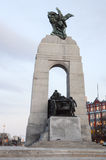 World war one monument Royalty Free Stock Image