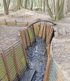 World War One Trenches stock photos