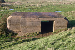 World War Two pillbox royalty free stock images