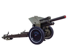 World war rarity soviet howitzer M30 Royalty Free Stock Image