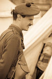 World War 1 Soldier royalty free stock images