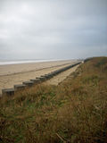 World War Two beach tank traps Stock Image