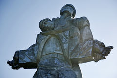 World War Two Memorial in Dilijan Royalty Free Stock Photo