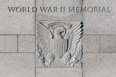 World War Two Memorial Royalty Free Stock Photography