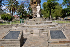 World War Two monument, Beaufort West Royalty Free Stock Image