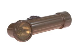 World War Two Period US Army Flash Light Stock Images