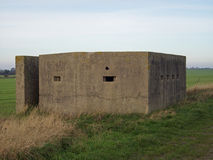 World War Two Pillbox Stock Images