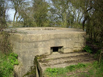 World War Two pillbox Stock Image