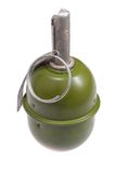 World War Two Soviet hand grenade. Isolated on a white background Stock Images