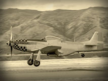 World War 2 US aircraft. 'Vintage Style' image  of World of American War 2 Torpedo bomber. First saw combat in 1942 Stock Images