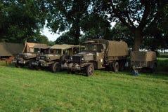 World war 2 vehicles Royalty Free Stock Photos