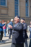 World War 2 veterans marching Stock Image
