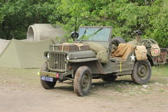 World war 2 Willy jeep Usa Stock Image