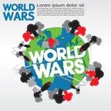 World Wars Conceptual. Stock Photos