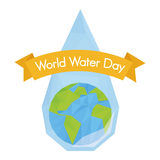 World water day Stock Photography