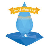 World water day Royalty Free Stock Photography