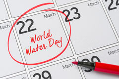 World Water Day Royalty Free Stock Images