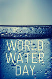 World water day Stock Photo