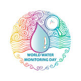 World water monitoring day Stock Photography