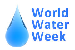 World Water Week concept Stock Photography