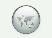 World web Button Royalty Free Stock Image