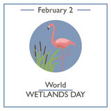 World Wetlands Day. February 2 Stock Images